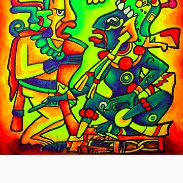Mayan Ancestors by artnotbombs