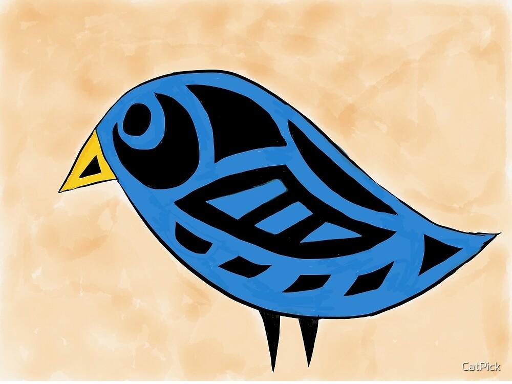 Tribal Birdie by CatPick