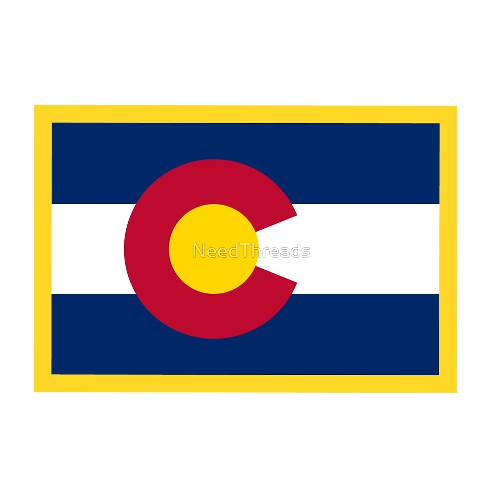 Colorado Flag by NeedThreads