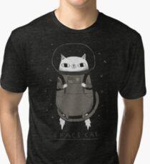 space cat Tri-blend T-Shirt