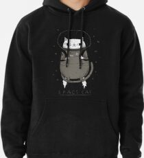 space cat Pullover Hoodie