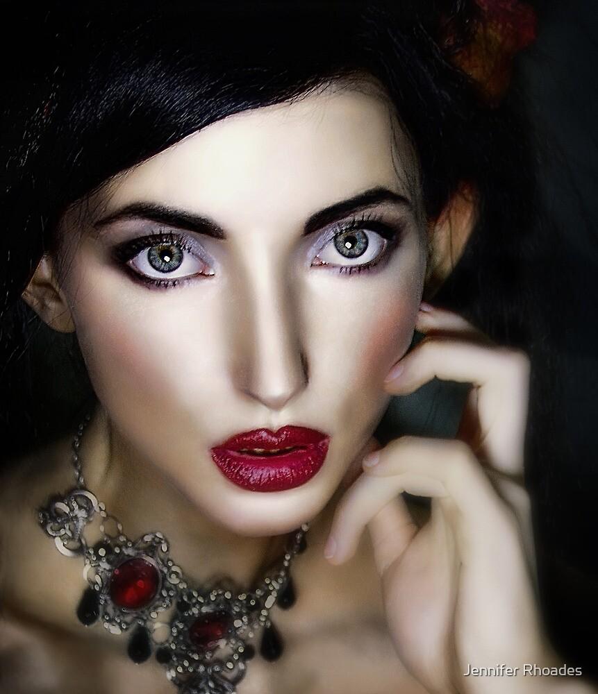 Ruby Red by Jennifer Rhoades