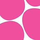 Big Dots in Pink by LauraMalkasian