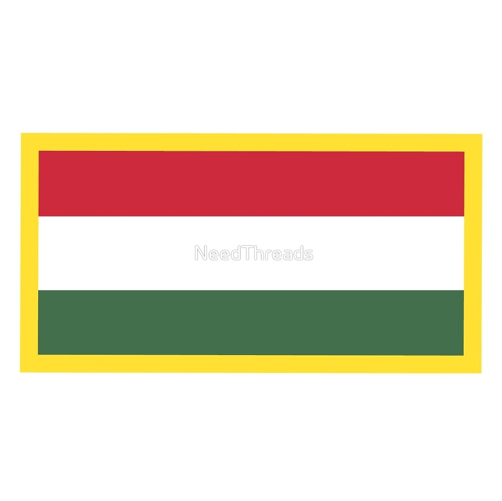 Hungary Flag by NeedThreads