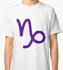 Capricorn Symbol Classic T-Shirt