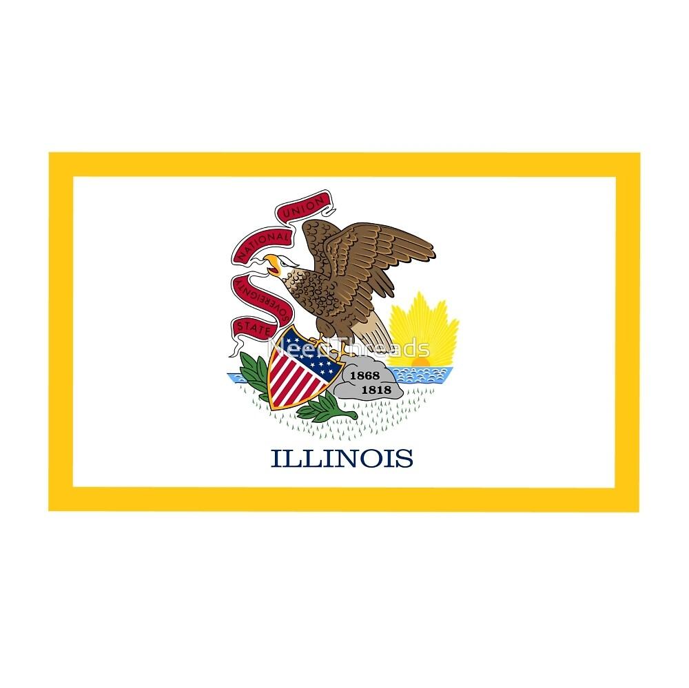 Illinois Flag by NeedThreads