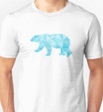 Geometric Ice Bear Unisex T-Shirt