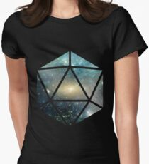D20 The Greener Side Women's Fitted T-Shirt