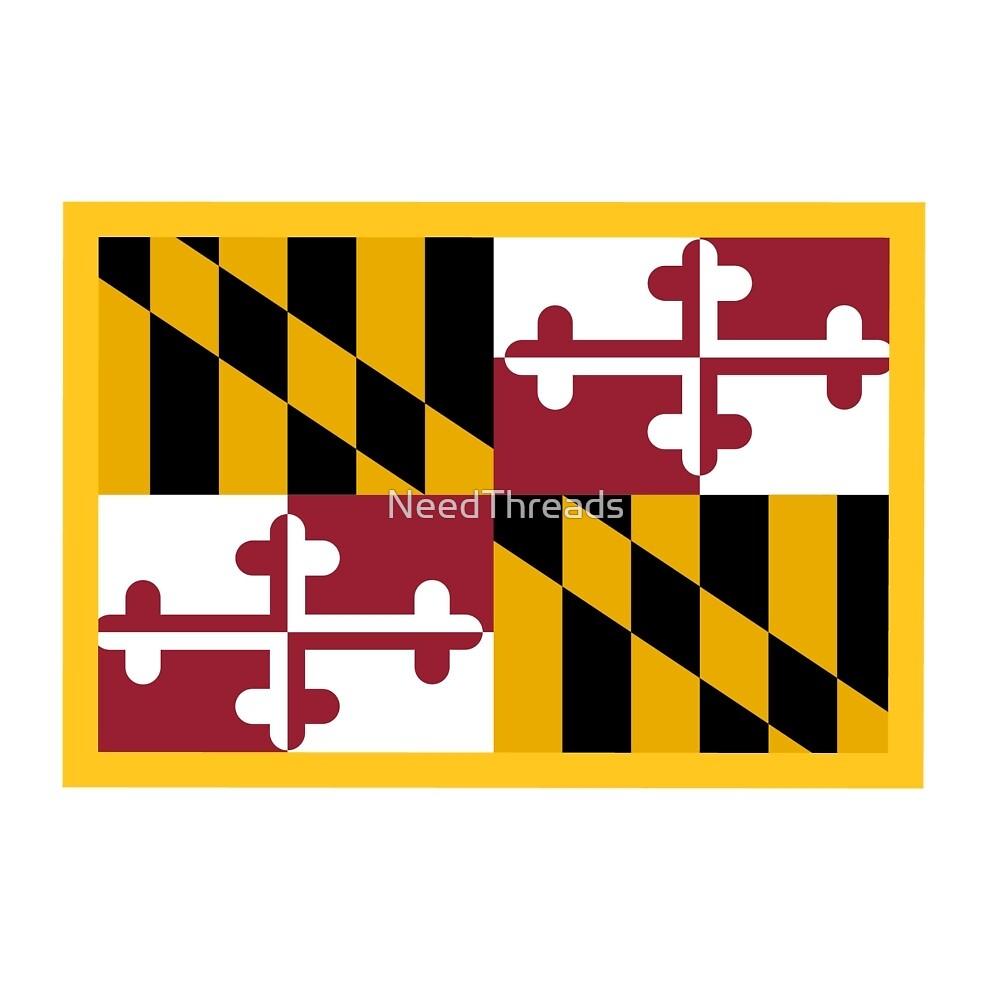 Maryland Flag by NeedThreads