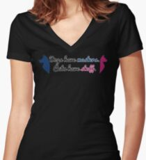 Masters VS Staff Women's Fitted V-Neck T-Shirt