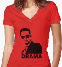 Johnny Drama - Entourage Women's Fitted V-Neck T-Shirt