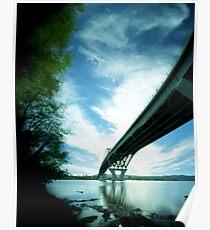Crown Point Bridge 2, Vermont Poster