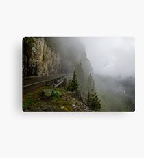 Road into the Clouds Canvas Print
