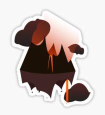 Mordor in the Sky Sticker