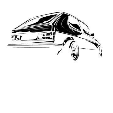 Volkswagen Golf MK1 by jbruntondesign