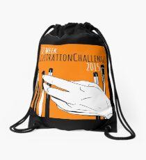 52 Week Illustration Challenge 2015 Logo Drawstring Bag