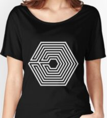 EXO - Overdose (White) Women's Relaxed Fit T-Shirt