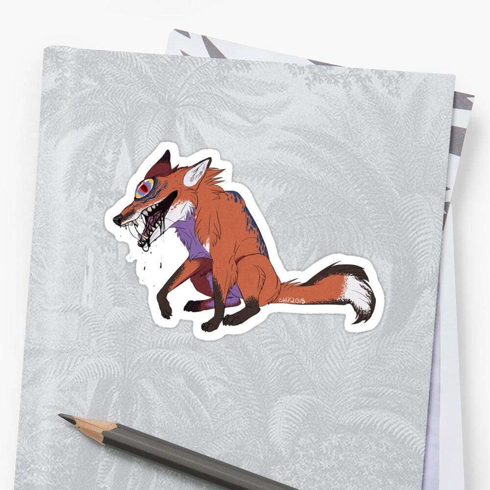 Eye Fox by The-Shy-Guy