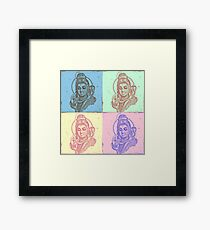 Shiva Pop Framed Print
