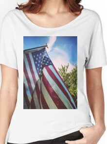 Home of the Brave Women's Relaxed Fit T-Shirt