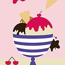 Ice cream Sundae by Shannon Kennedy