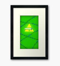 Master Sword Framed Print