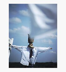 Fool on the hill Photographic Print