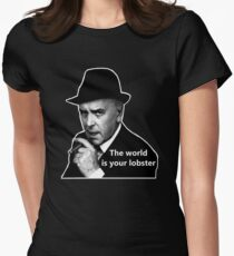 The World Is Your Lobster Women's Fitted T-Shirt