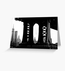 Under the Manhattan Greeting Card