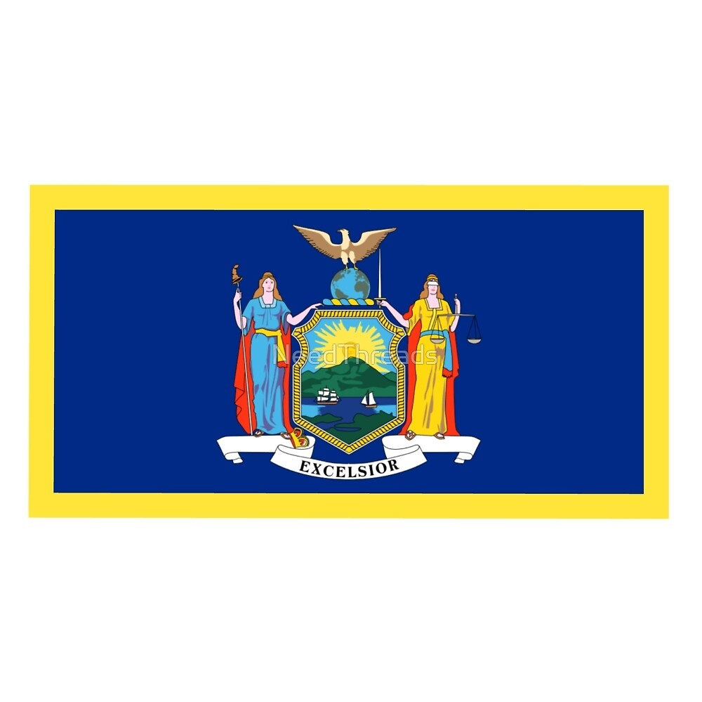 New York Flag by NeedThreads