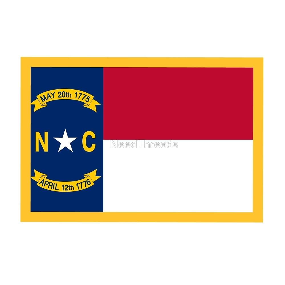 North Carolina Flag by NeedThreads