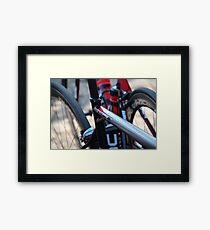 Taylor Phinney's Bike at 2013 Paris Roubaix Framed Print