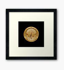 Golden Compass - Steampunk Framed Print