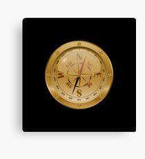Golden Compass - Steampunk Canvas Print