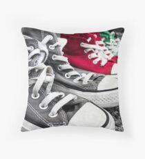 Converse Row Throw Pillow