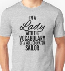 Lady Vocabulary Unisex T-Shirt