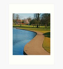 Rowntree Park 2 Art Print