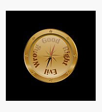 Moral Compass - Steampunk Photographic Print