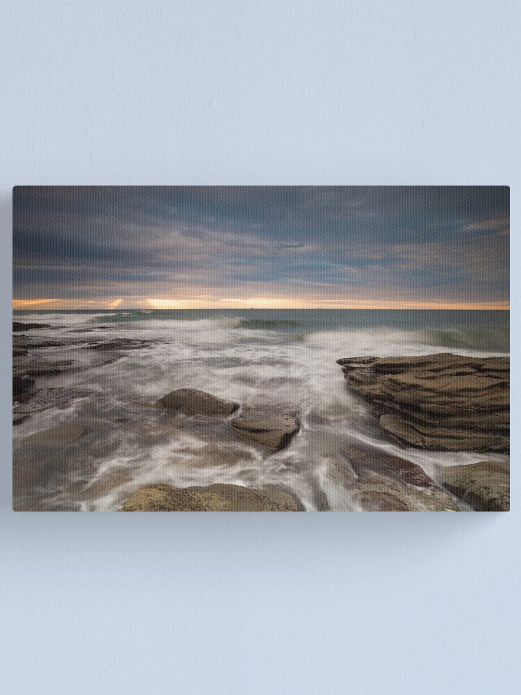 Alternate view of Sunrays at dawn Canvas Print