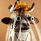 Cow Kachina by Carl  Onsae