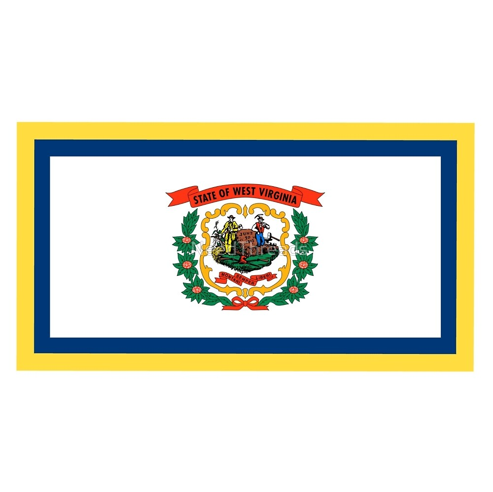West Virginia Flag by NeedThreads
