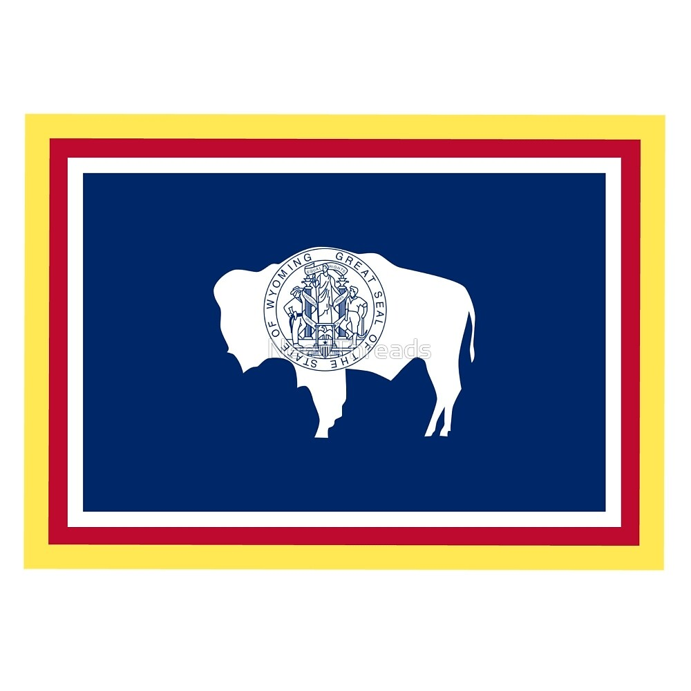 Wyoming Flag by NeedThreads