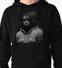 """""""Simmie"""" Faded Graphic Pullover Hoodie"""