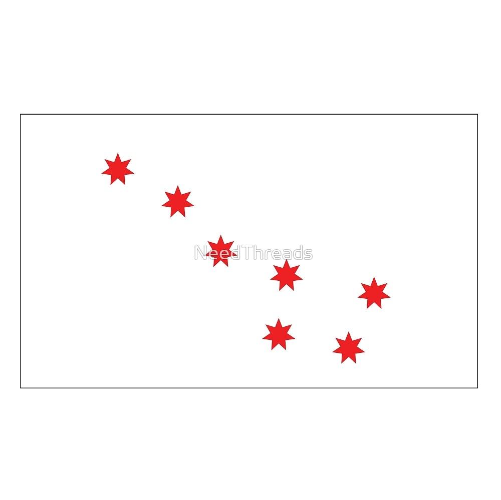 Cherokee Peace Flag by NeedThreads
