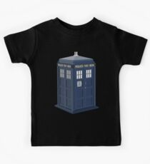 Tardis Doctor Who Kids Tee