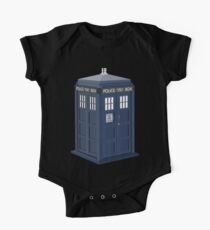 Tardis Doctor Who One Piece - Short Sleeve