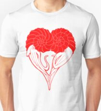 Ammonite Amore (Red) Unisex T-Shirt