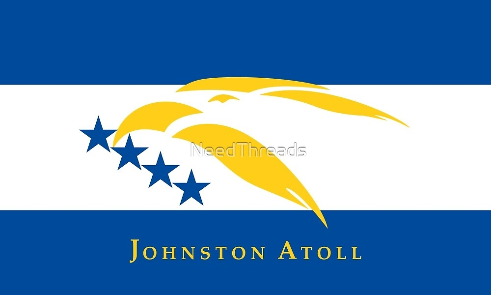 Johnston Atoll Flag by NeedThreads