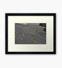 Flower Drop Framed Print