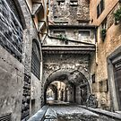 Narrow Streets in Florence by Marc Garrido Clotet